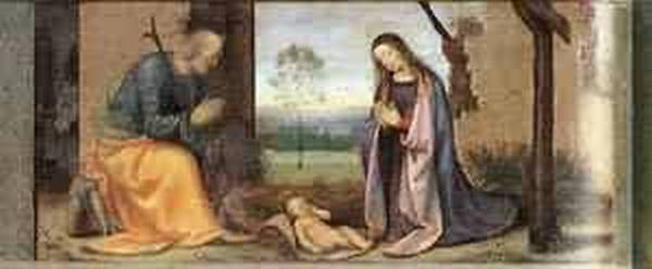 Birth of christ 1503 xx galleria degli uffizi florence